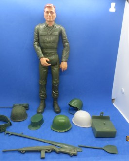 1960s Stony Smith Action Figure with a load of Accesories Marx Toys