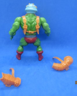 Vintage 1981 Masters of the Universe MOTU MAN AT ARMS Soft Head