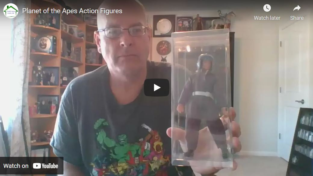 Read more about the article Planet of the Apes Action Figure Series
