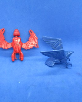 1986 Telepix Vintage Silver Hawks Sky Shadow & Stronghold part Lot