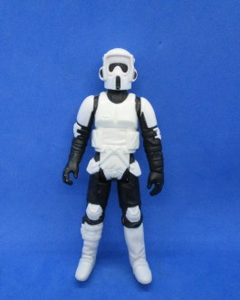 Vintage Star Wars BIKER SCOUT 1983 Taiwan Kenner Action Figure Stormtrooper