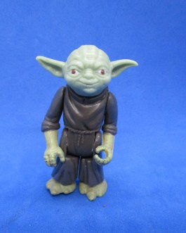 "Yoda Vintage Star Wars 3.75"" Action Figure Kenner 1980 LFL Made in Hong Kong"