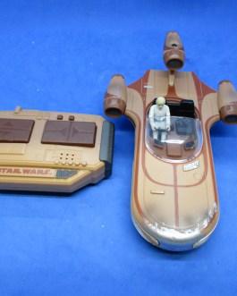 2015 Star Wars Luke Skywalker Landspeeder 7″ Air Hogs Toy Used/Works FREE SHIP