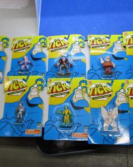 complete set 10 Bandai Tick Action Figures moc 1994/95 b