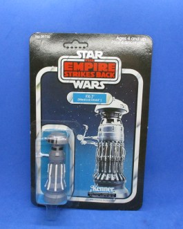 1980 Star Wars ESB FX 7 Medical droid figure MOC. 31A Card Back Sealed