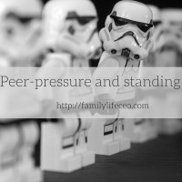 Peer-pressure and standing out
