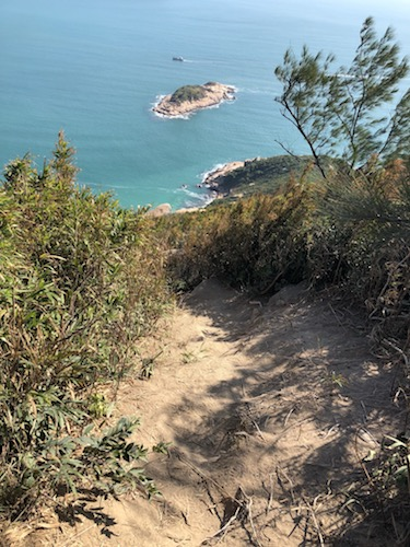 Rhino Rock trail