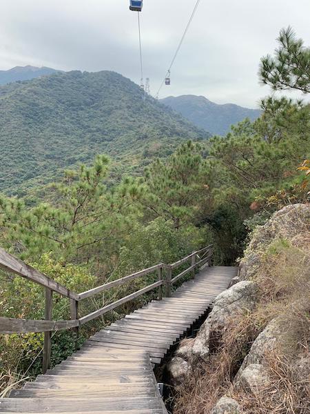 Ngong ping hiking trail