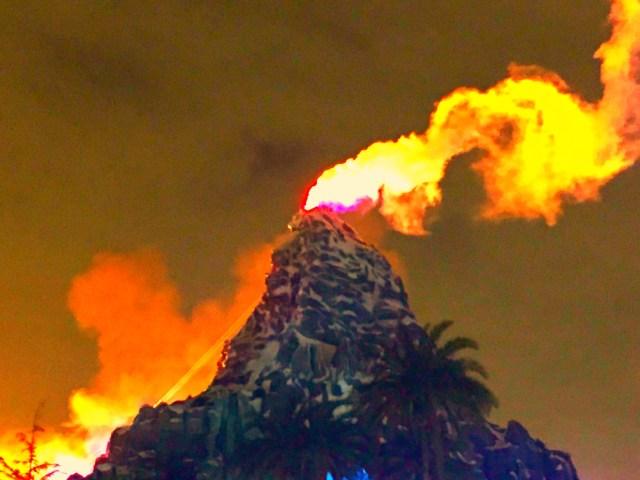 Matterhorn Erupting