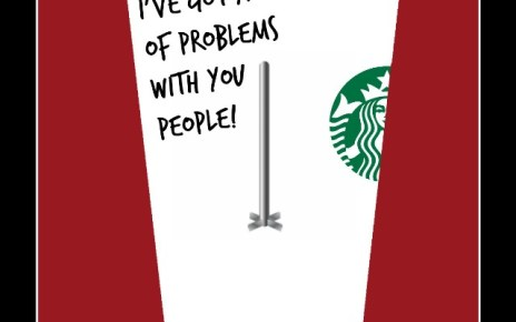 Happy Festivus Starbucks
