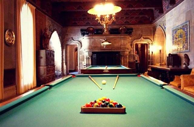Hearst Castle Game Room