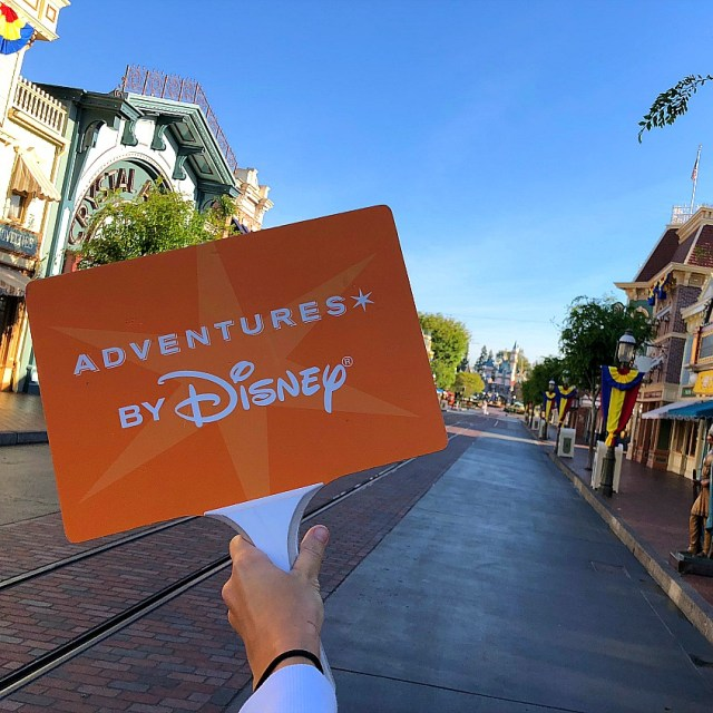 Adventures by Disney at Disneyland