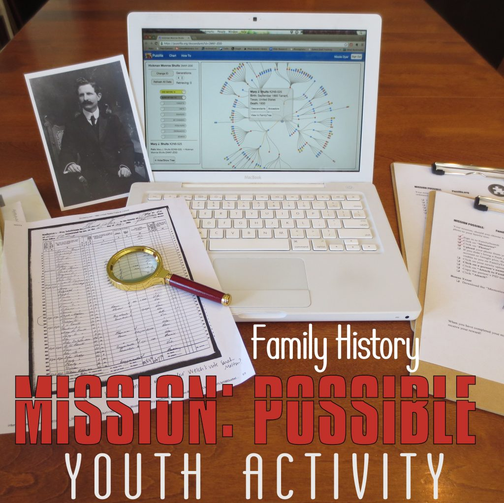 MISSION POSSIBLE Youth Activity