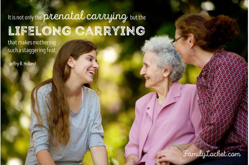 lifelong carrying
