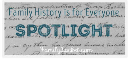 Family History is for everyone spotlight aqua