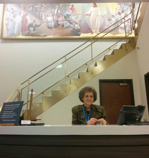 Front desk of the FHL