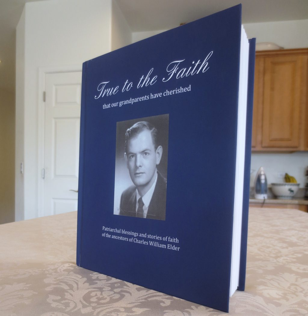 Remembering the Faith of My Ancestors with a Blurb Book