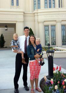 Payson LDS temple
