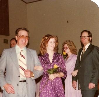Bobby Gene Shults and Diana at church program