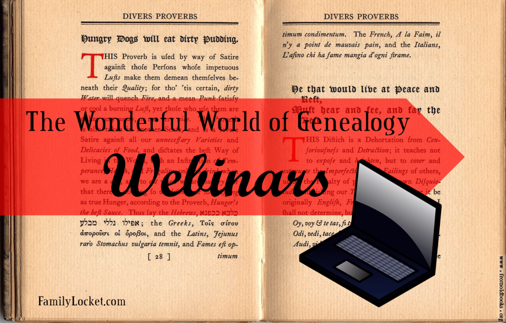The Wonderful World of Webinars