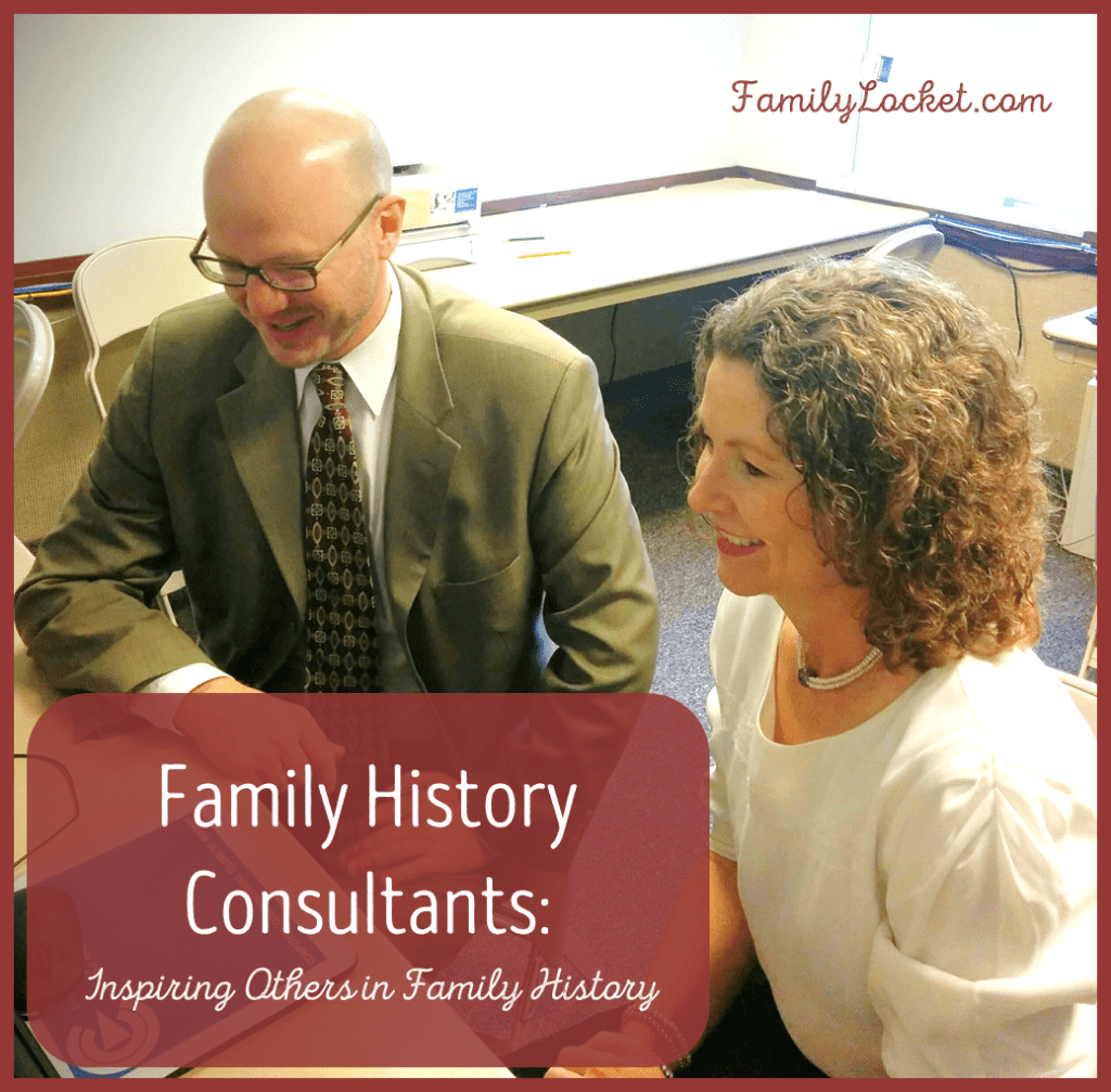 Family History consultants inspiring others in family history