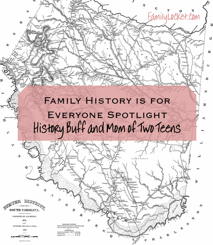 Family History is For Everyone Spotlight: Dafney Murray