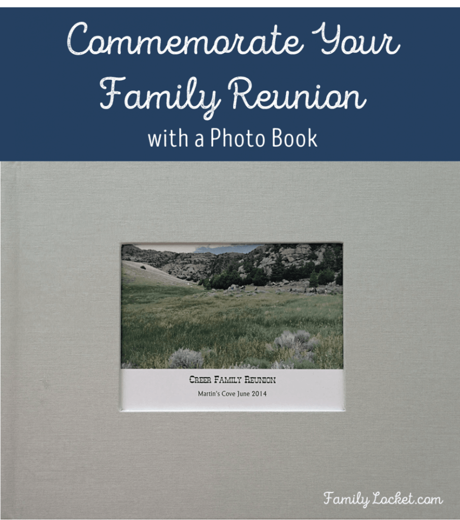 commemorate your family reunion with a photo book