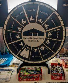 BYU library wheel