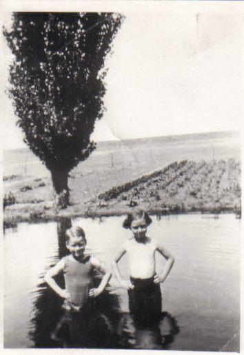 Bob and Christine circa 1936