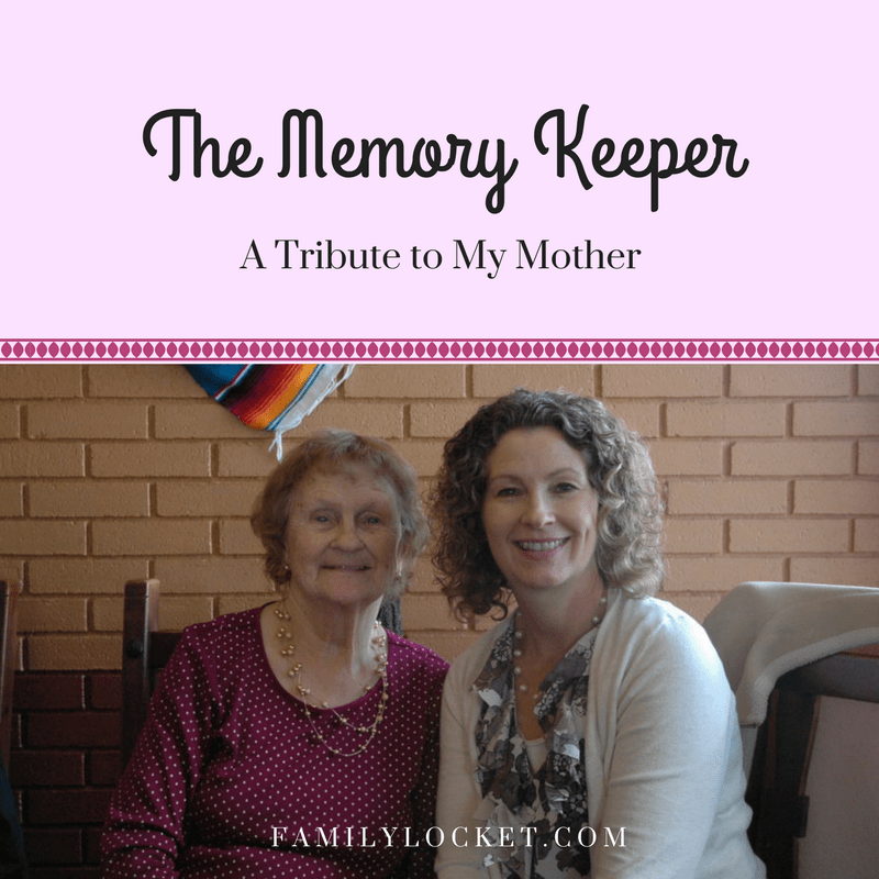 The Memory Keeper: A Tribute to My Mother