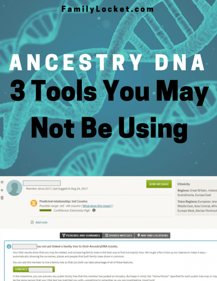 Ancestry DNA Matches: Three Tools You May Not be Using