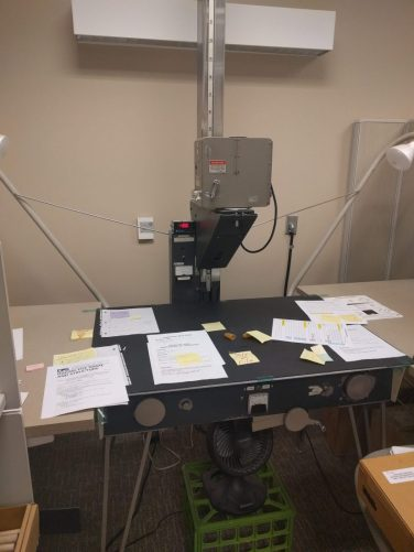 Microfilm camera