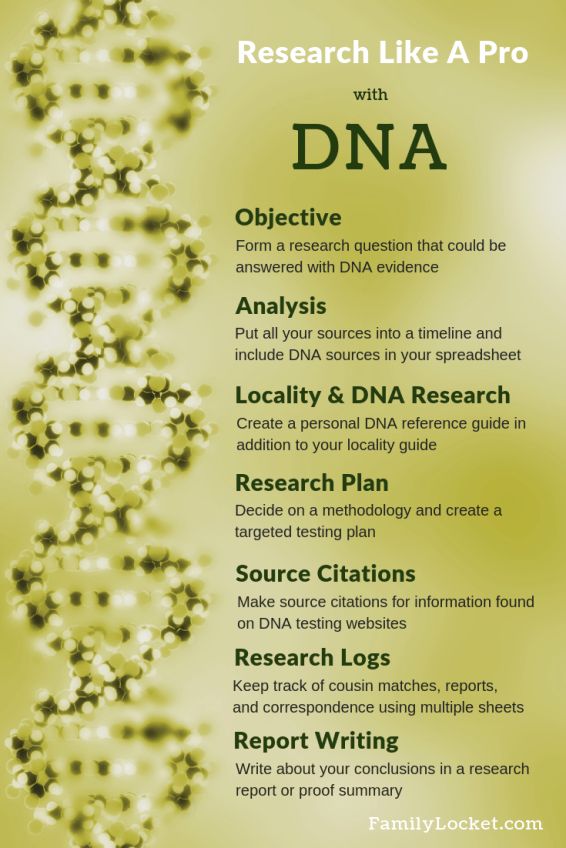 Research Like a Pro with DNA pinterest steps