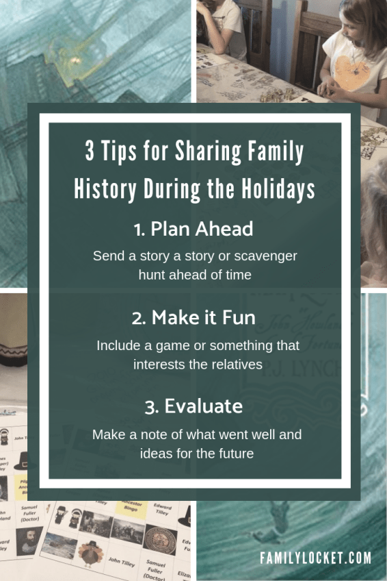 3 tips for sharing family history during the holidays