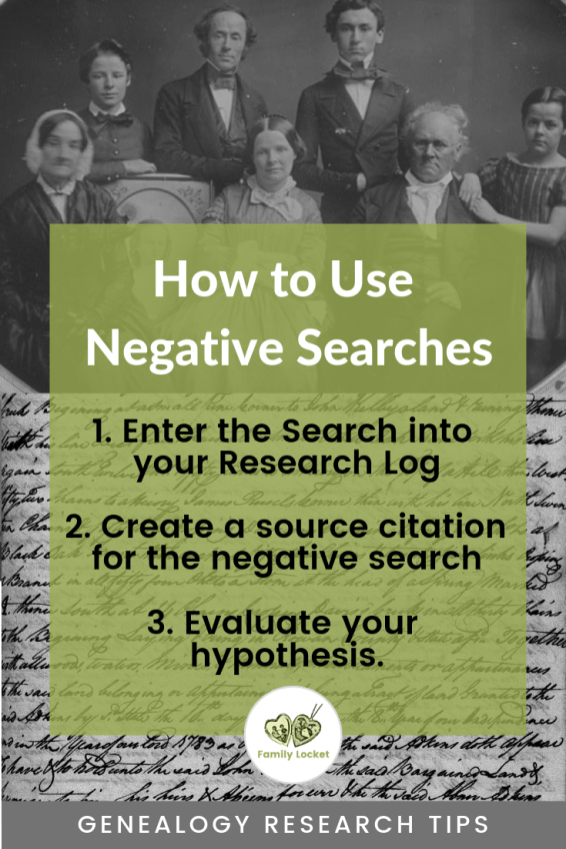 Negative Searches Infographic