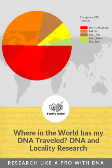 Where in the world has my DNA traveled_