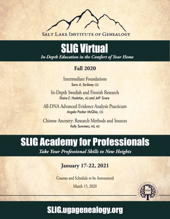 Academy-Virtual 2021 Flyer