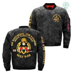 1st Battalion, 5th cavalry desert shield storm over print jacket %tag familyloves.com