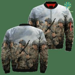 familyloves.com 82nd Airborne - Chris Collingwood Over Print Jacket %tag