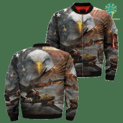 familyloves.com U.S Air Force Over Print Jacket %tag