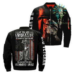 If You Are Ashamed To Stand By Your Colors You Had Better Seek Another Flag Over Print Jacket %tag familyloves.com