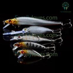 familyloves.com 5pcs/Lot Fishing Lures Set Mixed 5 Models Default Title %tag