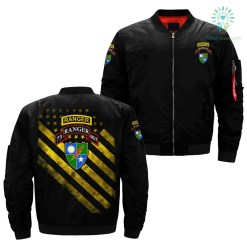 75th ranger over print jacket %tag familyloves.com