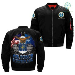 Air Force Veterans over print jacket %tag familyloves.com