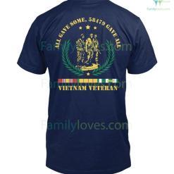 ALL GAVE SOME, 58479 GAVE ALL, Vietnam Veterans of America - Mens V-Neck %tag familyloves.com