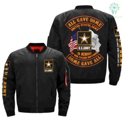 ALL GAVE SOME - SOME GAVE ALL - U.S.ARMY OVER PRINT JACKET %tag familyloves.com