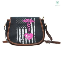 familyloves.com American Nurse Saddle Bag %tag