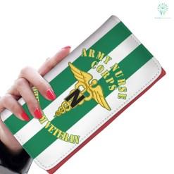 familyloves.com Army nurse corps vietnam veteran womens wallet Default Title %tag