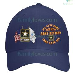 ARMY RETIRED HAT %tag familyloves.com