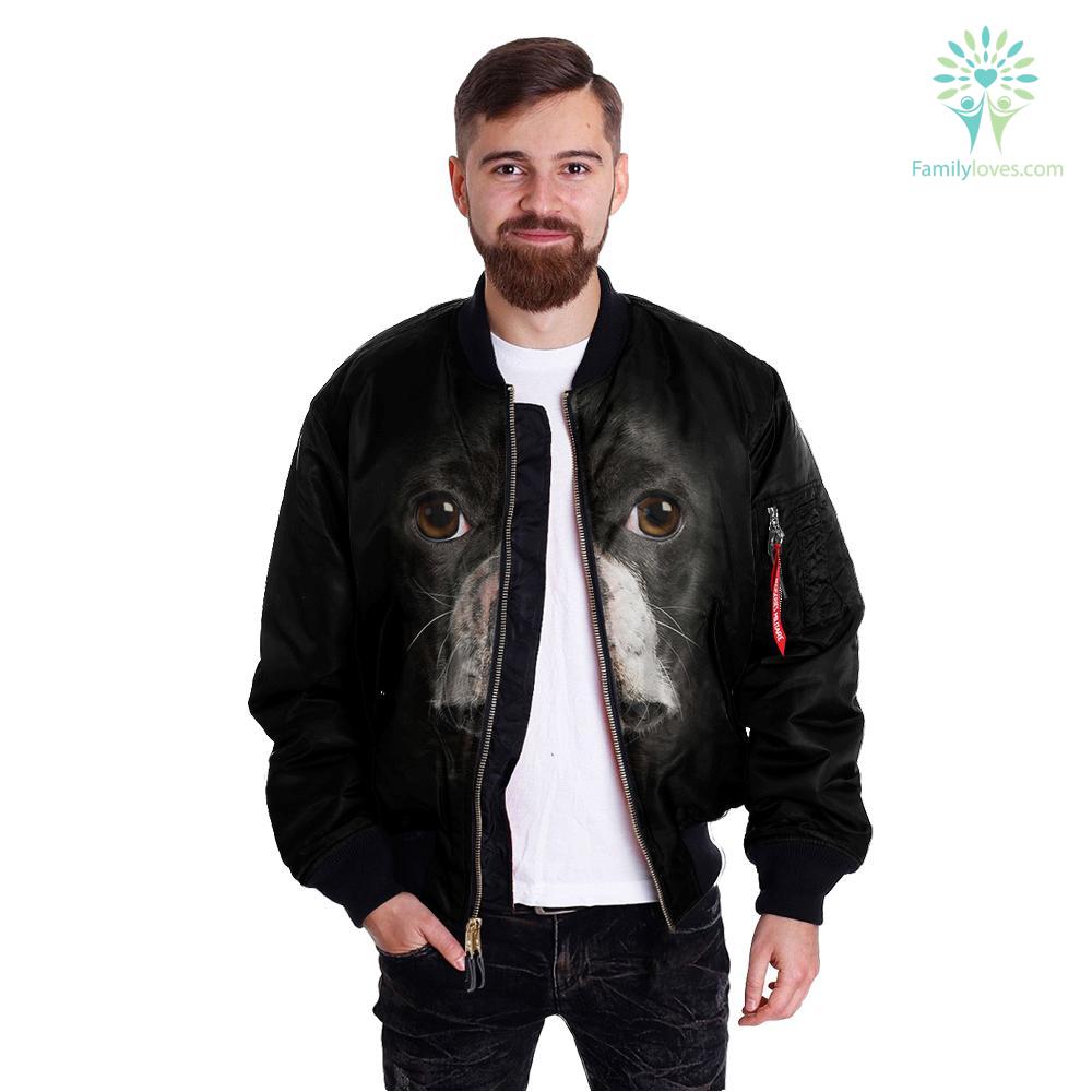 Boston Terrier over print jacket %tag familyloves.com